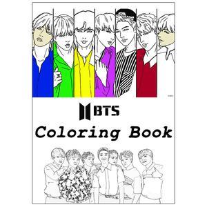 دفتر رنگ آمیزی گیلدا مدل بی تی اس BTS کد ART-105