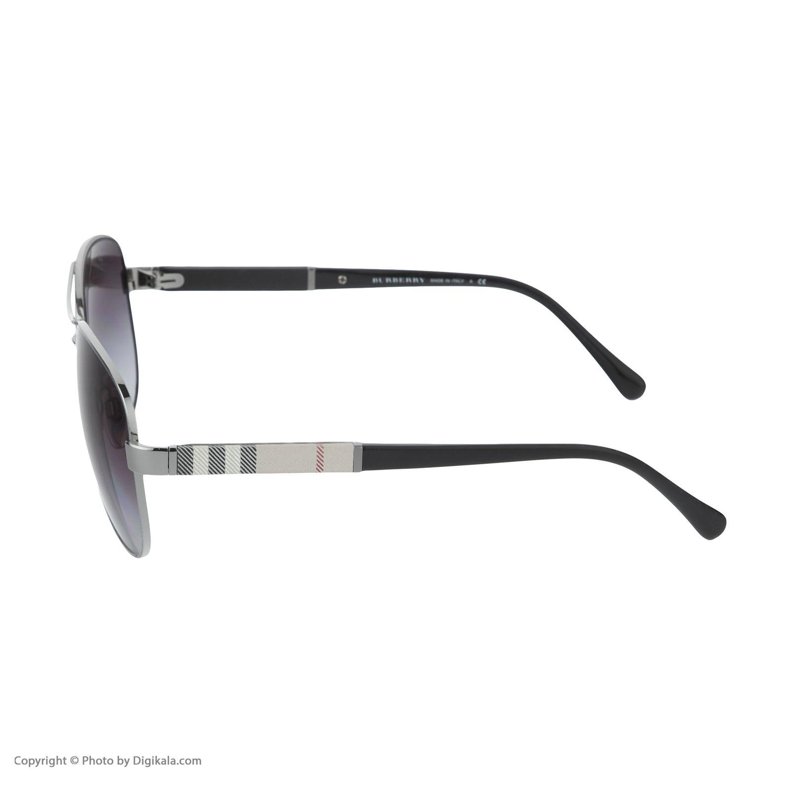 عینک آفتابی مردانه بربری مدل BE 3080S 10038G 59 -  - 6