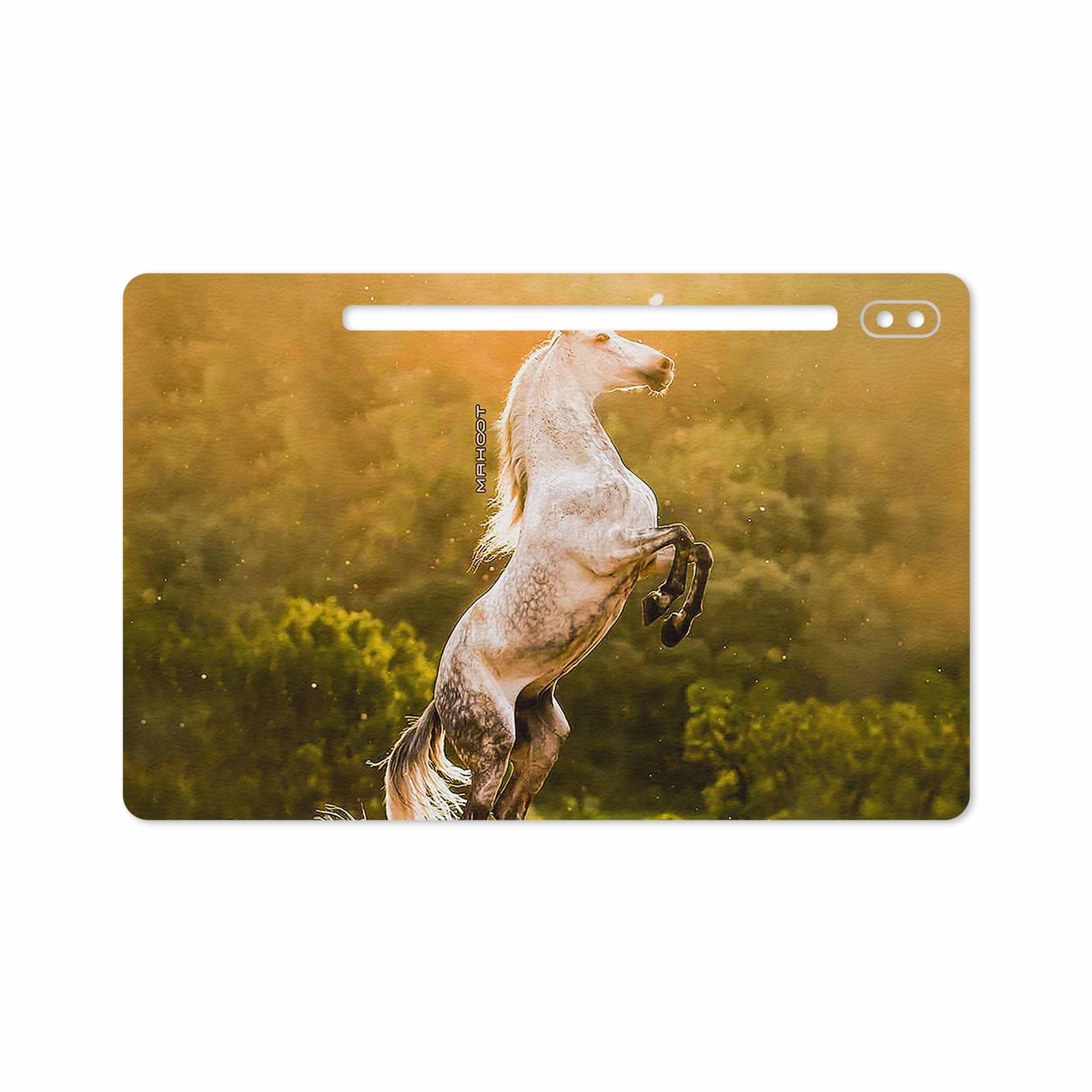 بررسی و خرید [با تخفیف]                                     برچسب پوششی ماهوت مدل Horse-2 مناسب برای تبلت سامسونگ Galaxy Tab S6 2019 SM-T865                             اورجینال