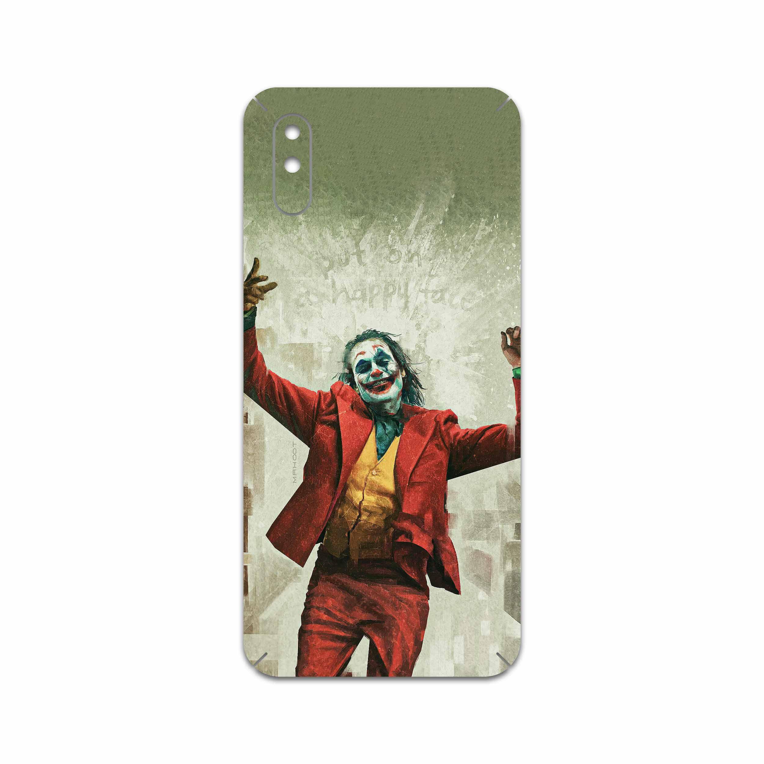 برچسب پوششی ماهوت مدل Joker مناسب برای گوشی موبایل شیائومی Redmi 9A