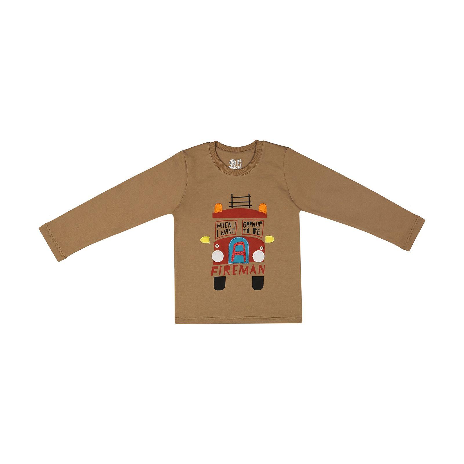 تی شرت پسرانه سون پون مدل 1391363-27 -  - 2