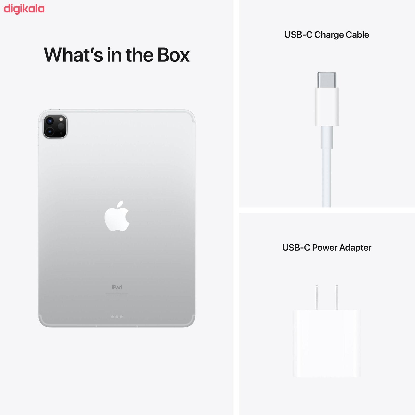 تبلت اپل مدل iPad Pro 11 inch 2021 WiFi ظرفیت 256 گیگابایت main 1 7