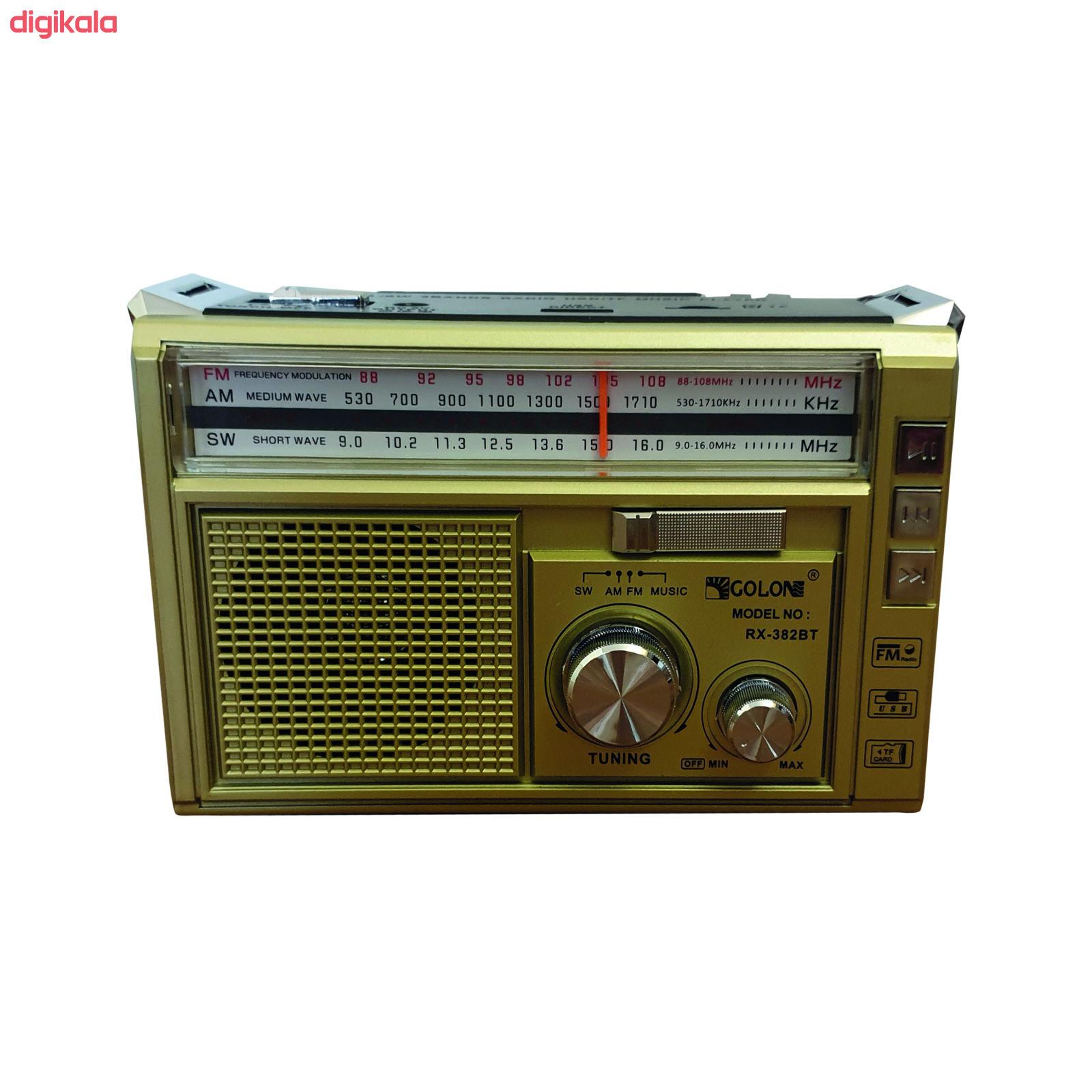 رادیو گولون مدل RX-382BT main 1 9