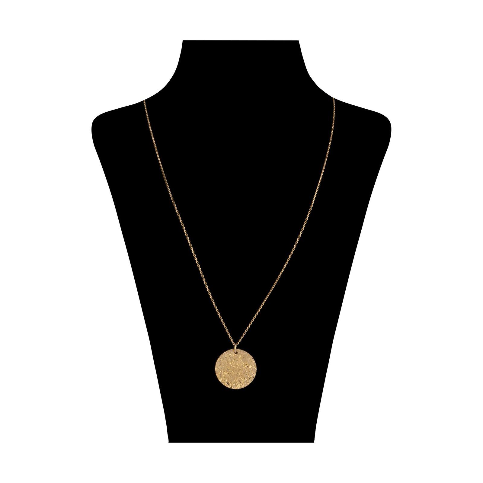 گردنبند طلا 18 عیار زنانه سنجاق مدل X077525 -  - 1