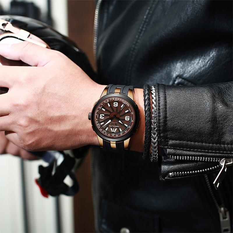 ساعت مچی عقربهای مردانه مگالیت مدل 8201