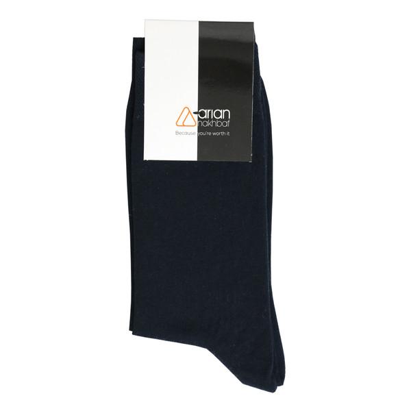 جوراب مردانه آریان نخ باف کد 51215-4