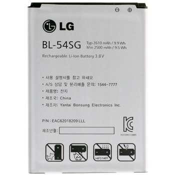 باتری موبایل مدل BL-54SG با ظرفیت 2610mAh مناسب برای گوشی موبایل ال جی G3 Beat