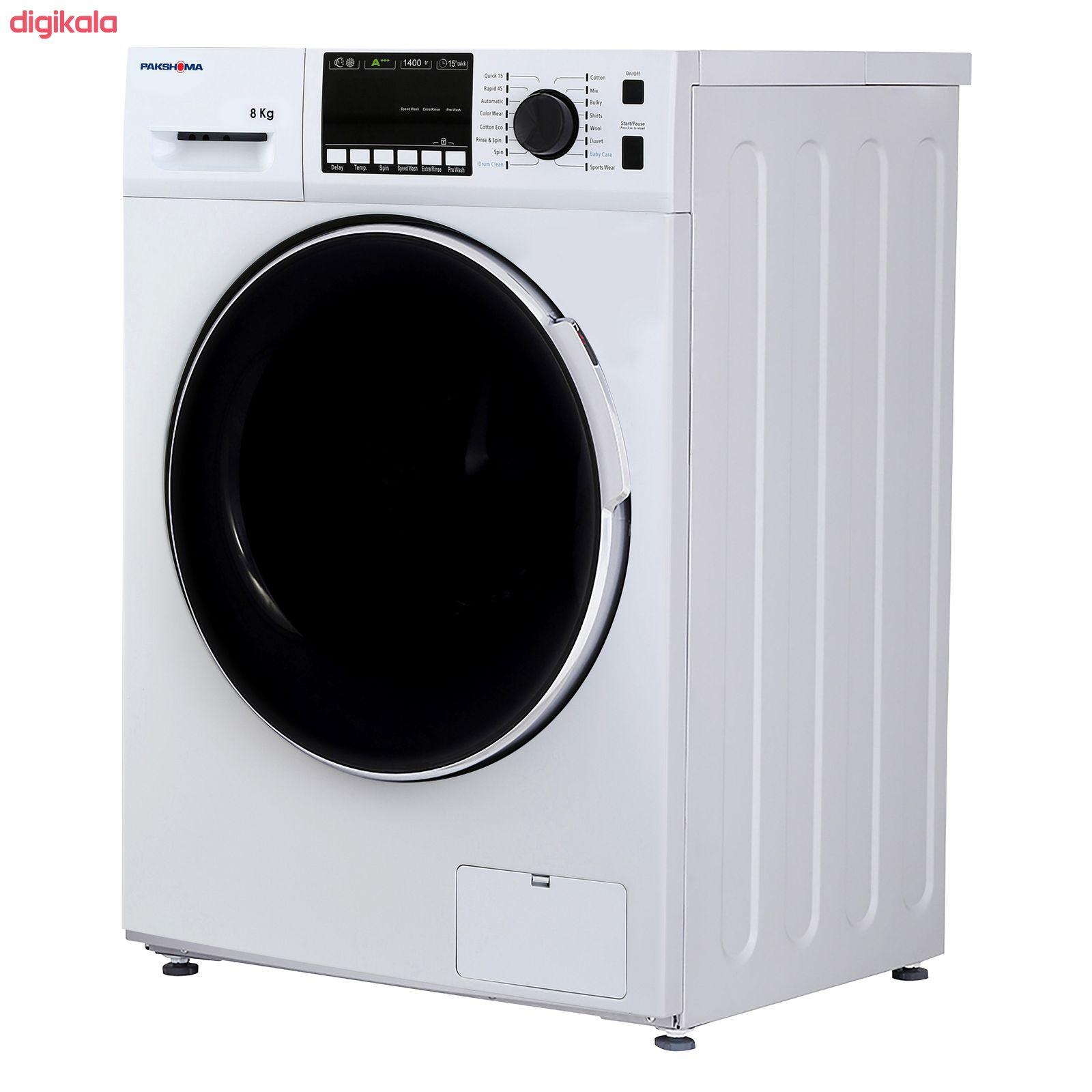 ماشین لباسشویی پاکشوما مدل TFU-84401 ظرفیت 8 کیلوگرم main 1 2