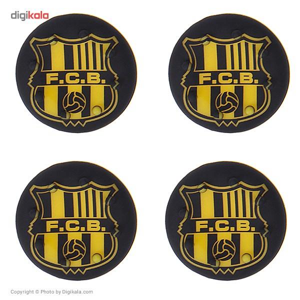 روکش سیلیکونی آنالوگ استیک مدل FC Barcelona Logo