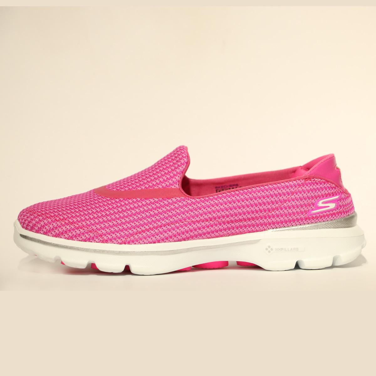 کفش پیاده روی زنانه اسکچرز مدل GO WALK 3  کد SN13980