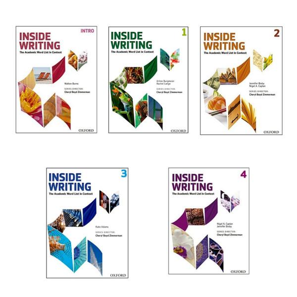 کتاب Inside writing اثر جمعی از نویسندگان انتشارات اکسفورد 5جلدی