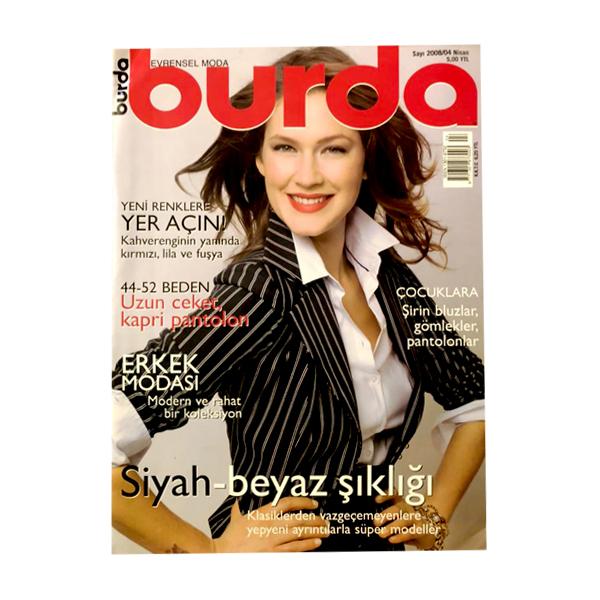 مجله burda آوریل 2008