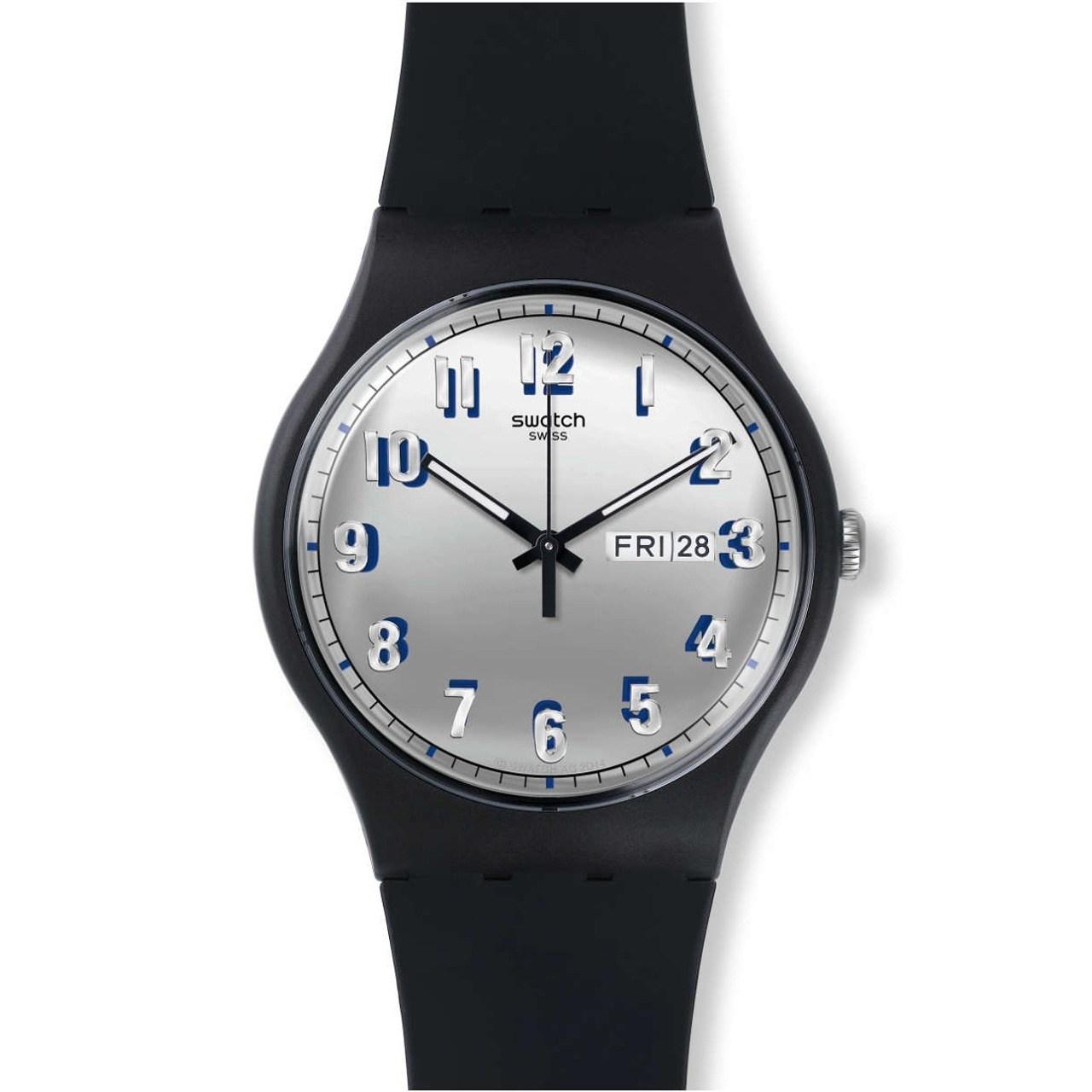 ساعت مچی عقربه ای مردانه سواچ مدل SUOB718 44