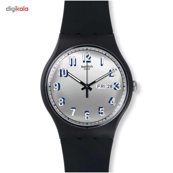 خرید ساعت مچی عقربه ای مردانه سواچ مدل SUOB718