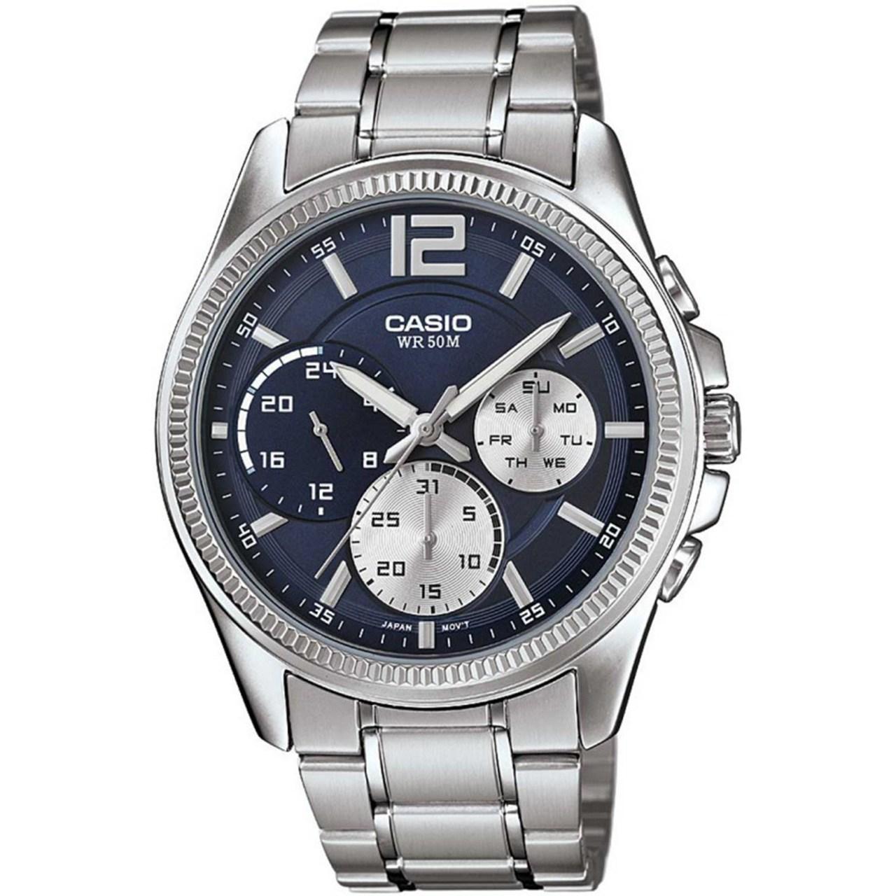 ساعت مچی عقربه ای مردانه کاسیو مدل MTP-E305D-2AVDF 18