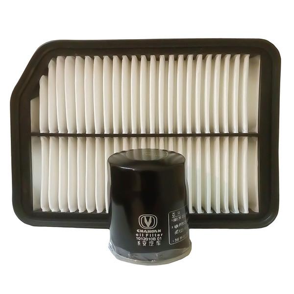 فیلتر روغن تام مدل TW600J مناسب برای چانگان CS35 به همراه فیلتر هوا