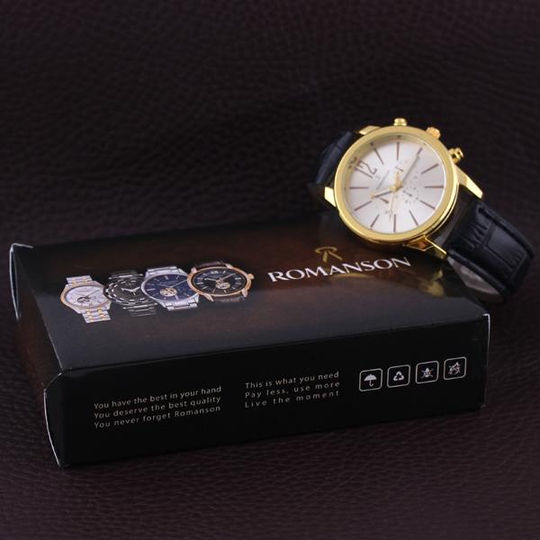 ساعت مچی عقربه ای مدل RO 2256 -ME-SE                     غیر اصل