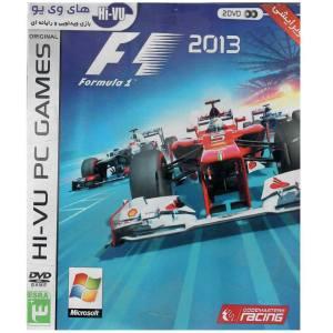 بازی  F1 2013 مخصوص pc