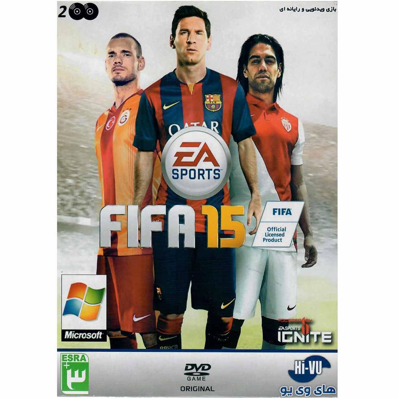 بازی کامپیوتری FIFA 15 مخصوص PC