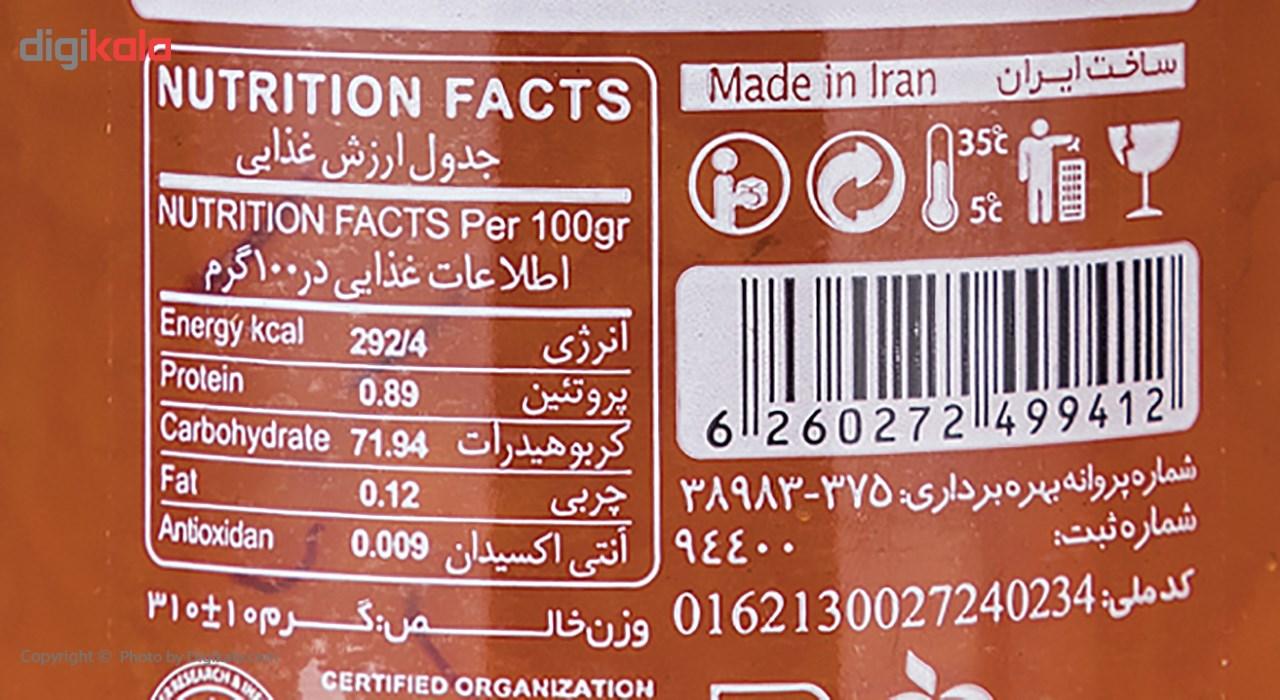 مربا هویج زعفرانی شانا مقدار 310 گرم