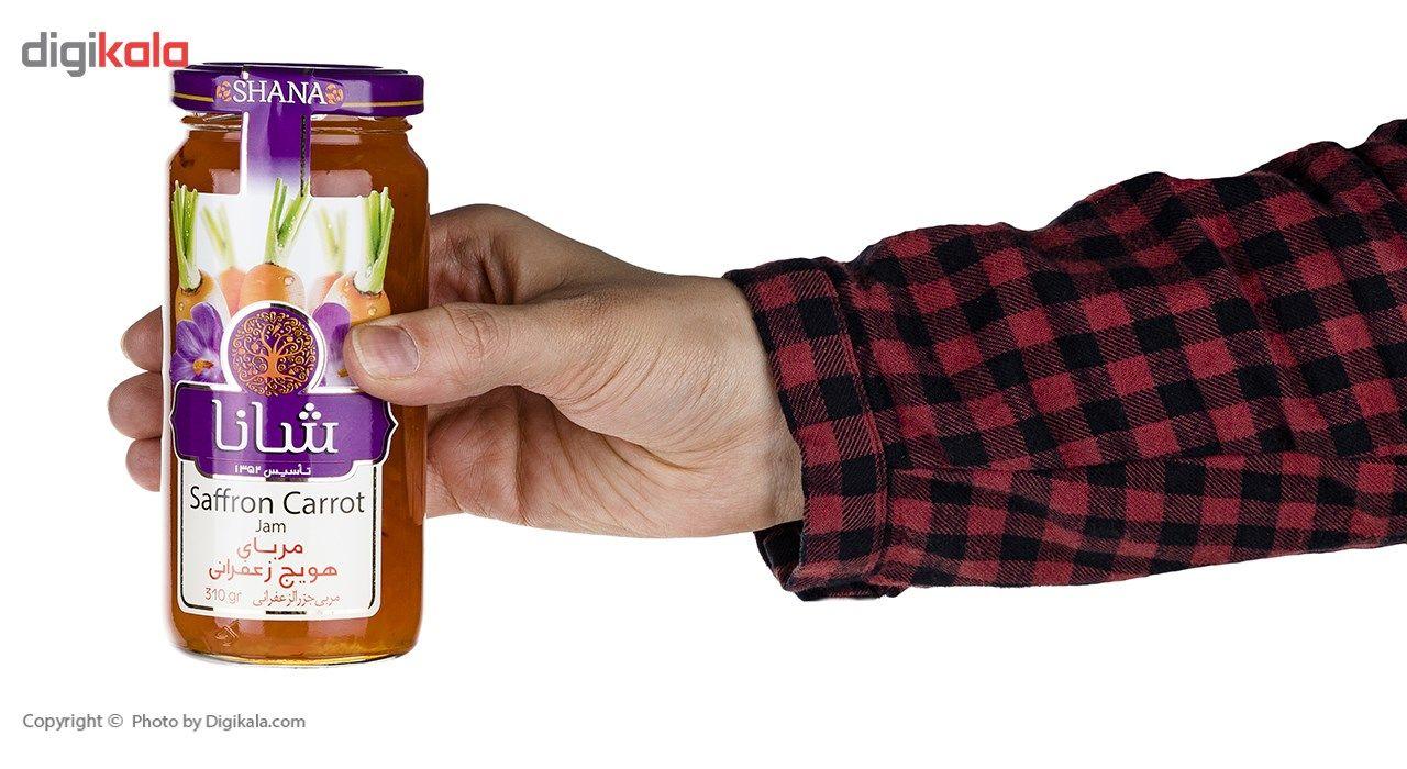 مربا هویج زعفرانی شانا - 310 گرم main 1 5
