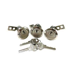 قفل و سوئیچ خودرو مدل F109 مناسب برای پراید بسته 3 عددی