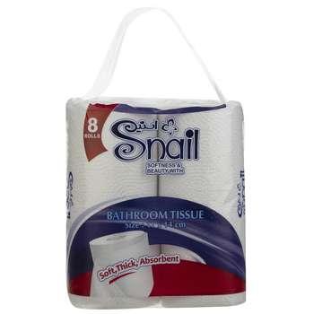 دستمال توالت اسنیل مدل Banafshe بسته 8 عددی