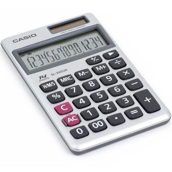 ماشین حساب کاسیو مدل SL-340VA | Casio SL-340VA Calculator