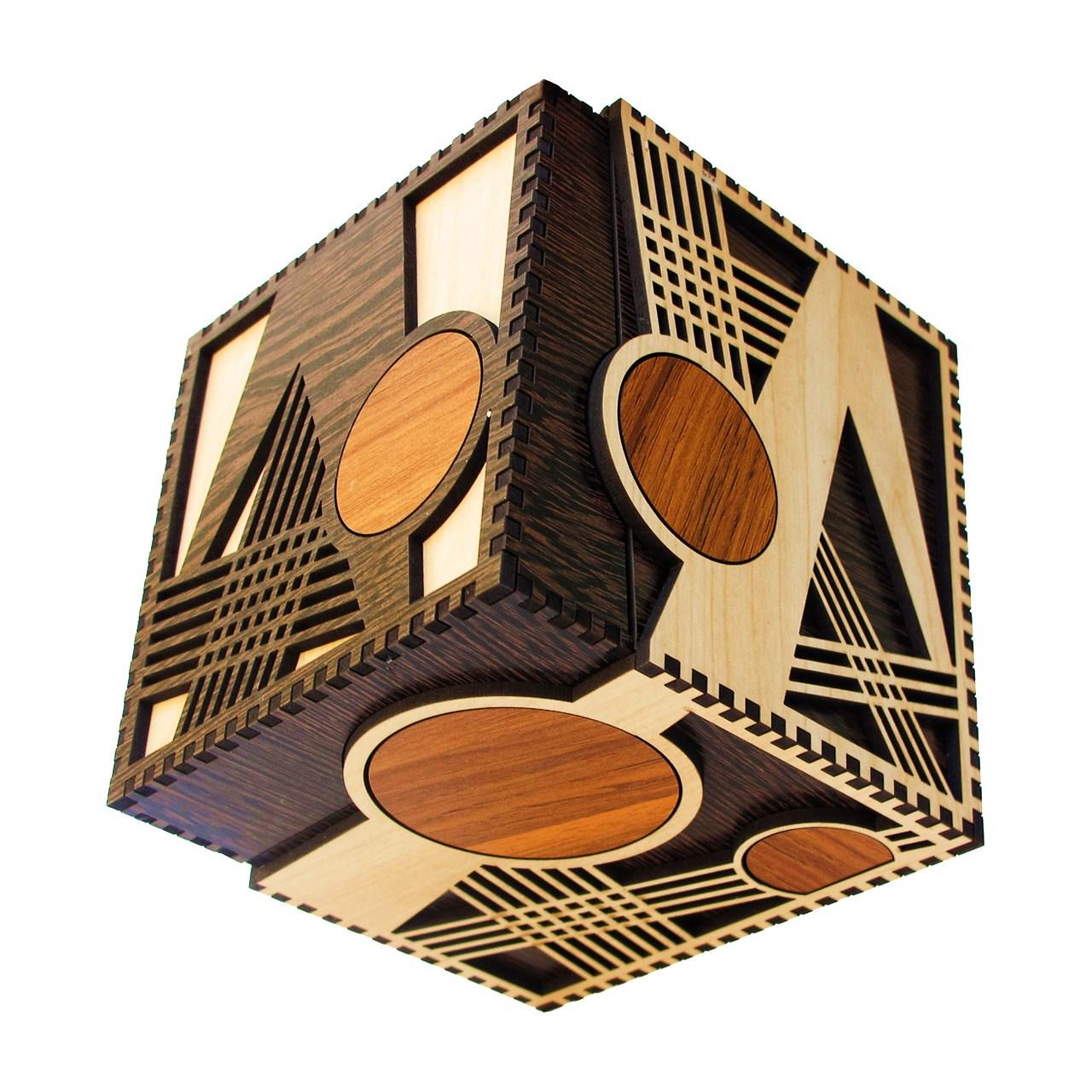 خرید                      جعبه کادویی چوبی چیزل مدل 9727