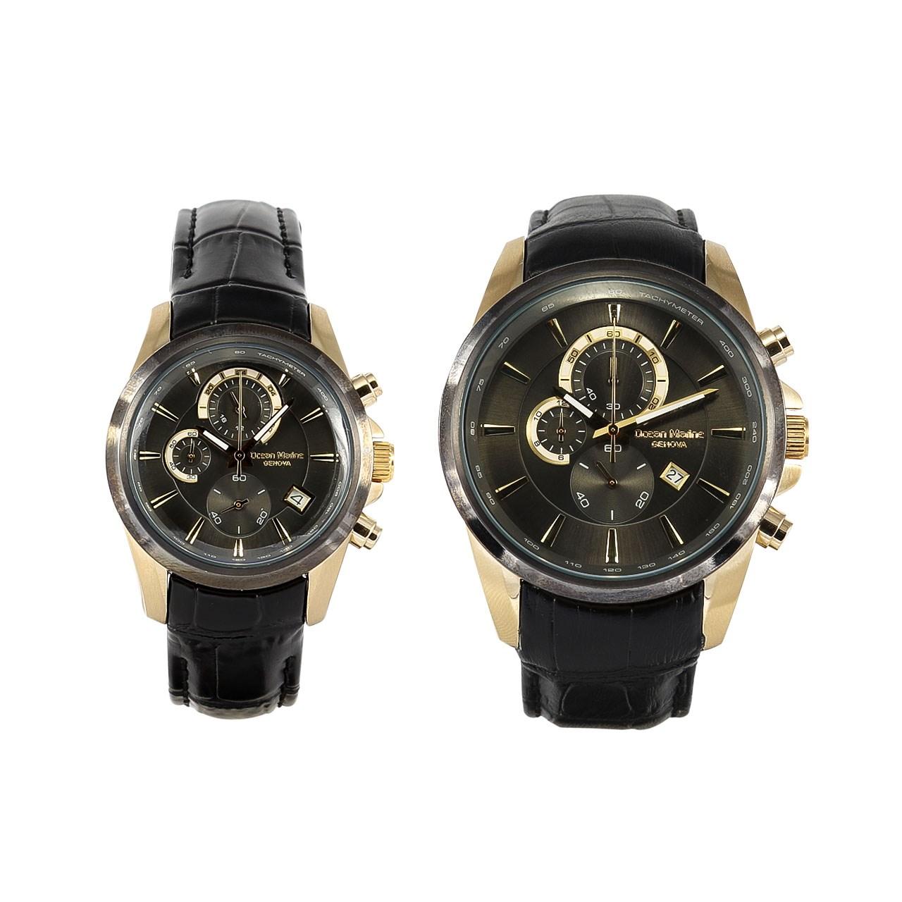 ساعت ست مردانه و زنانه اوشن مارین مدل OM-8101L-1 و OM-8101G-1 10
