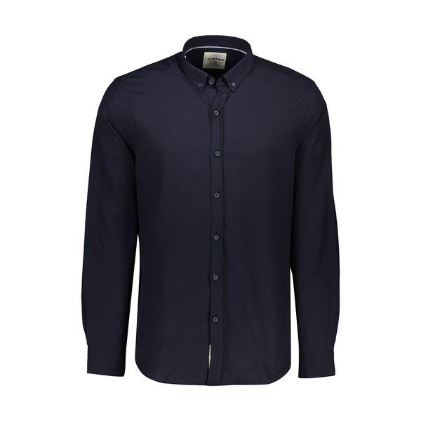 پیراهن آستین بلند مردانه کوتون مدل 8YAM62251LW-711