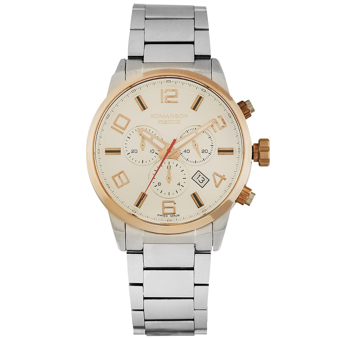 قیمت                      ساعت مچی عقربه ای مردانه رومانسون مدل TM3259HM1JAS6R