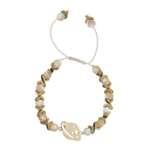 دستبند طلا 18 عیار ماهک مدل MB0602 - مایا ماهک