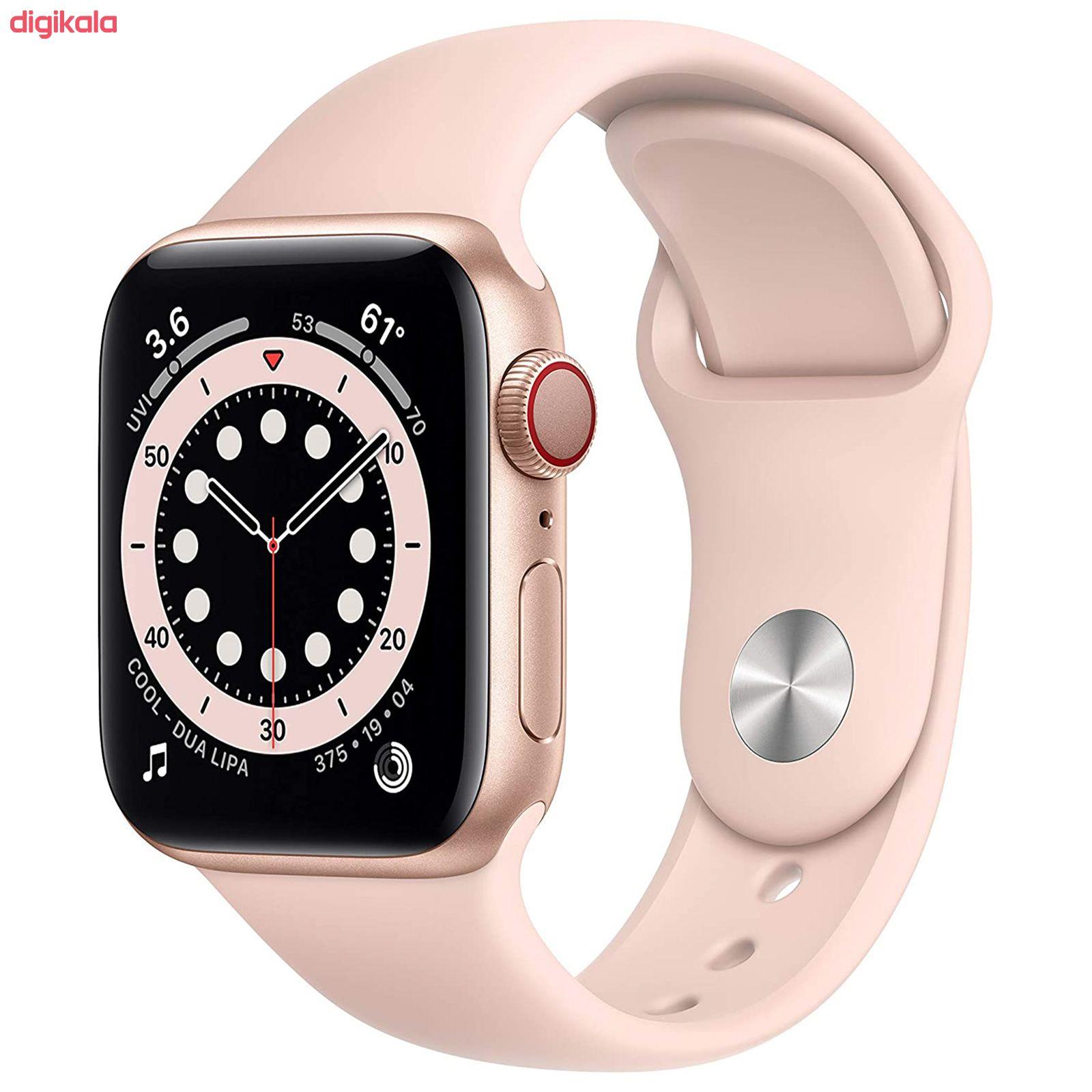 ساعت هوشمند اپل سری 6 مدل Aluminum Case 40mm main 1 7