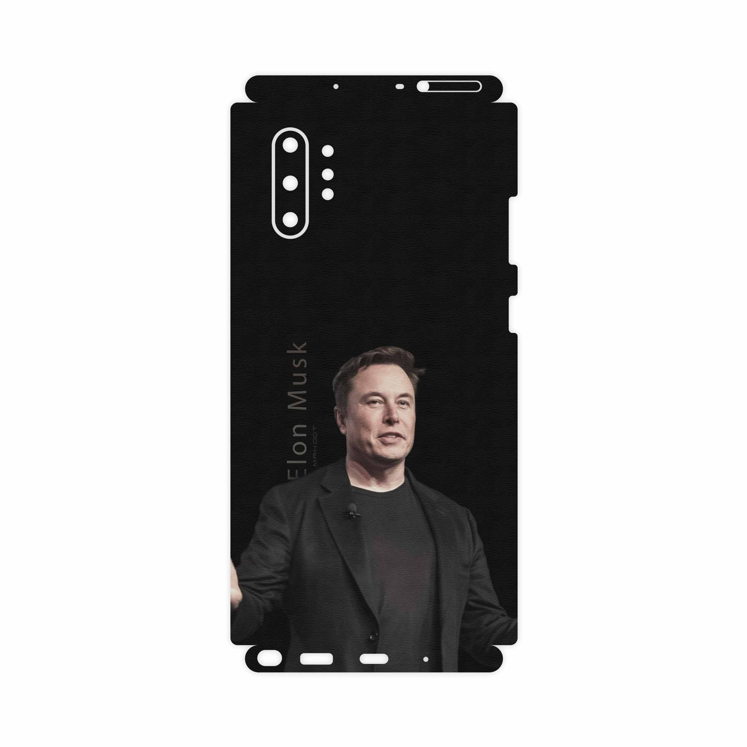 برچسب پوششی ماهوت مدل Elon Musk-FullSkin مناسب برای گوشی موبایل سامسونگ Galaxy Note 10 Plus