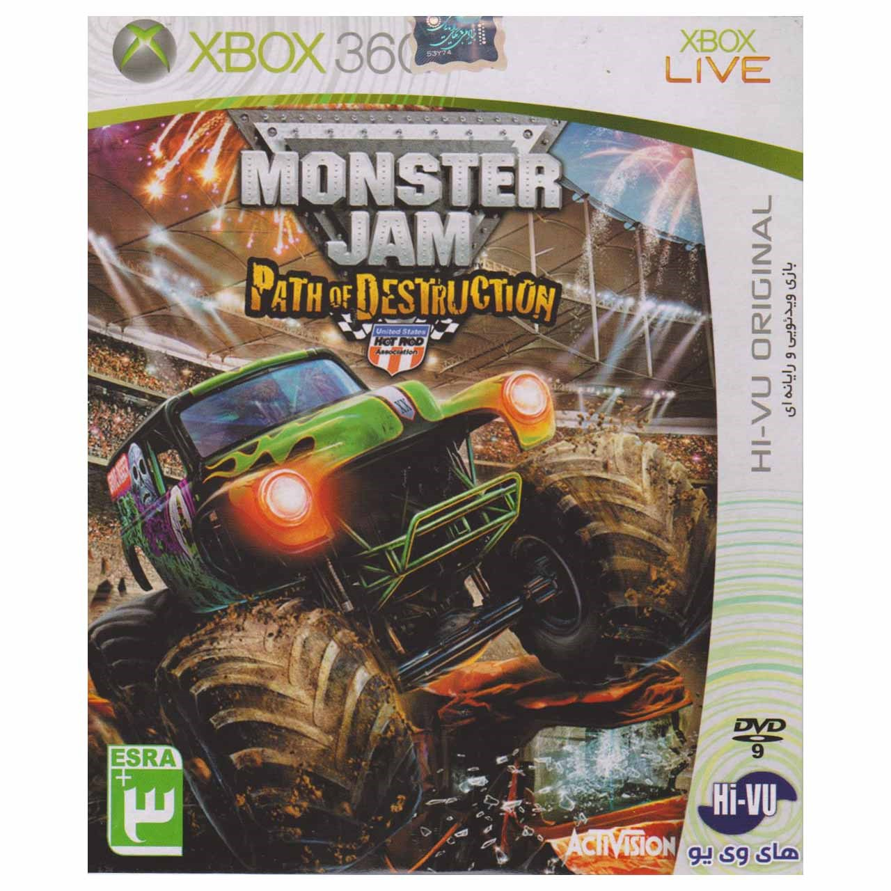 بازی Monster Jam  مخصوص ایکس باکس 360