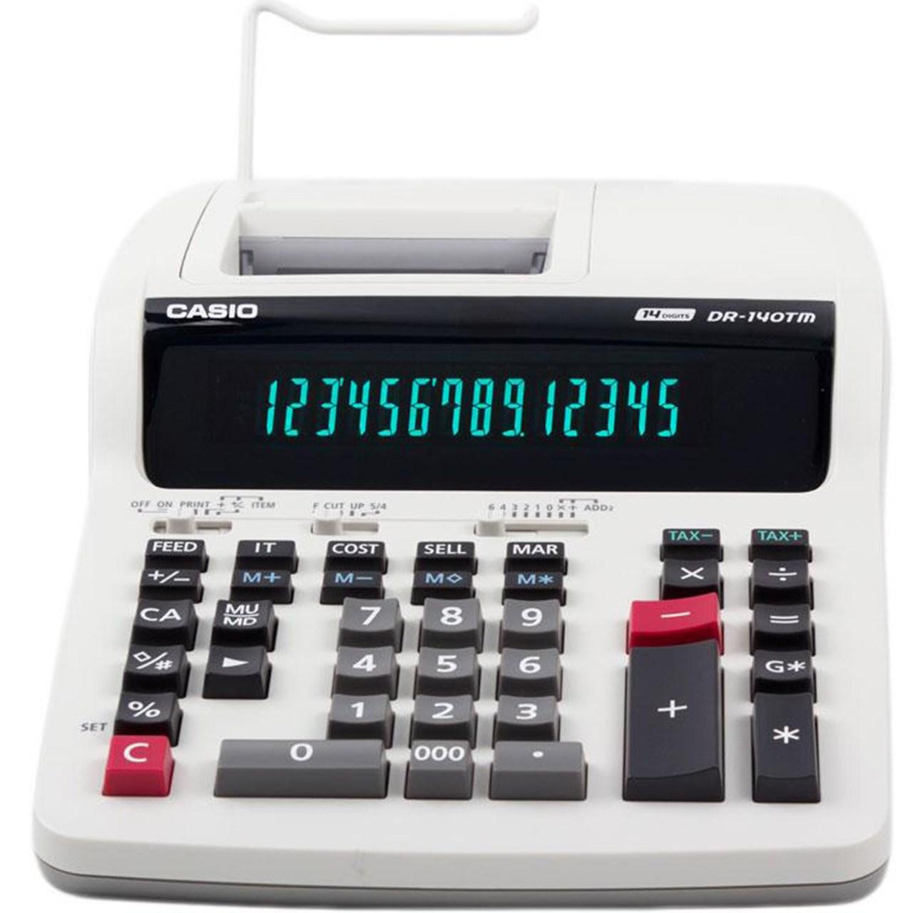 ماشین حساب کاسیو مدل DR-140TM