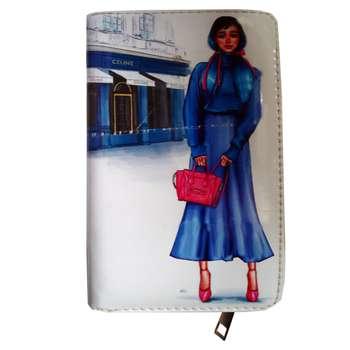 کیف پول دخترانه مدل wa-518