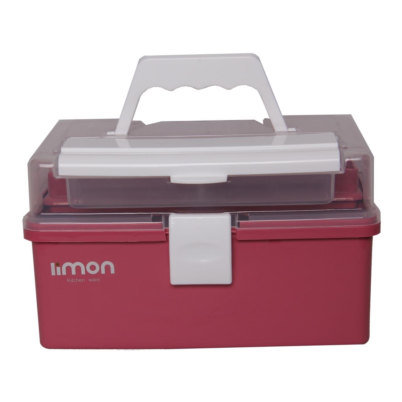 خرید                     جعبه لوازم خیاطی لیمون کد ML17-2