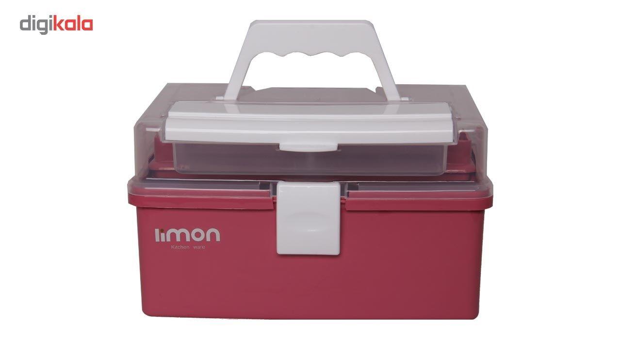 جعبه لوازم خیاطی لیمون کد ML17-2 main 1 1