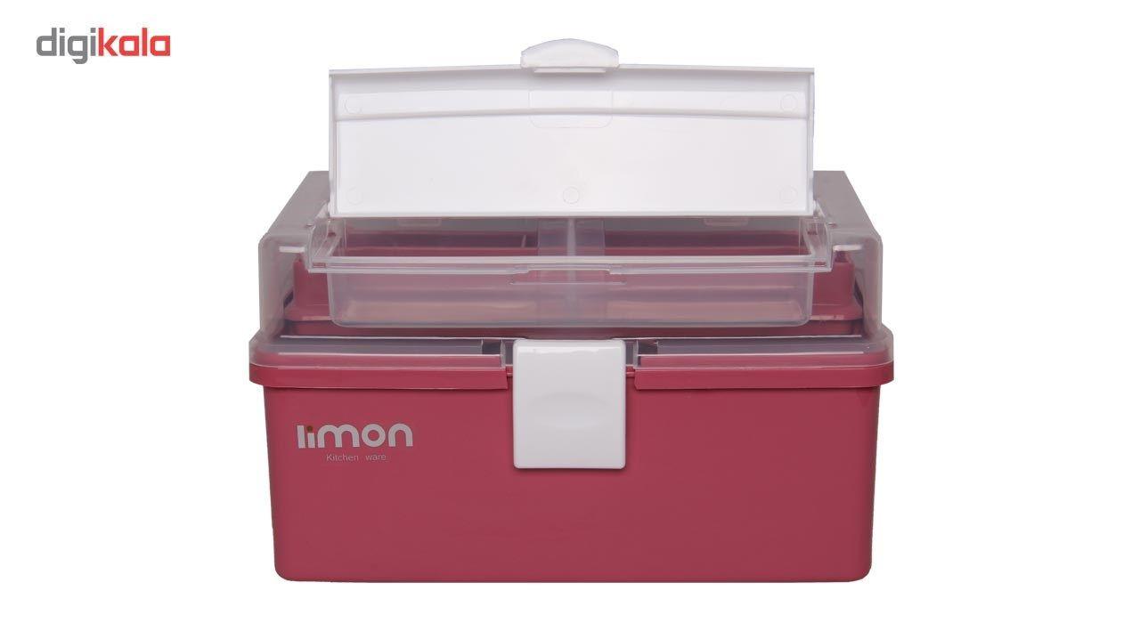 جعبه لوازم خیاطی لیمون کد ML17-2 main 1 2