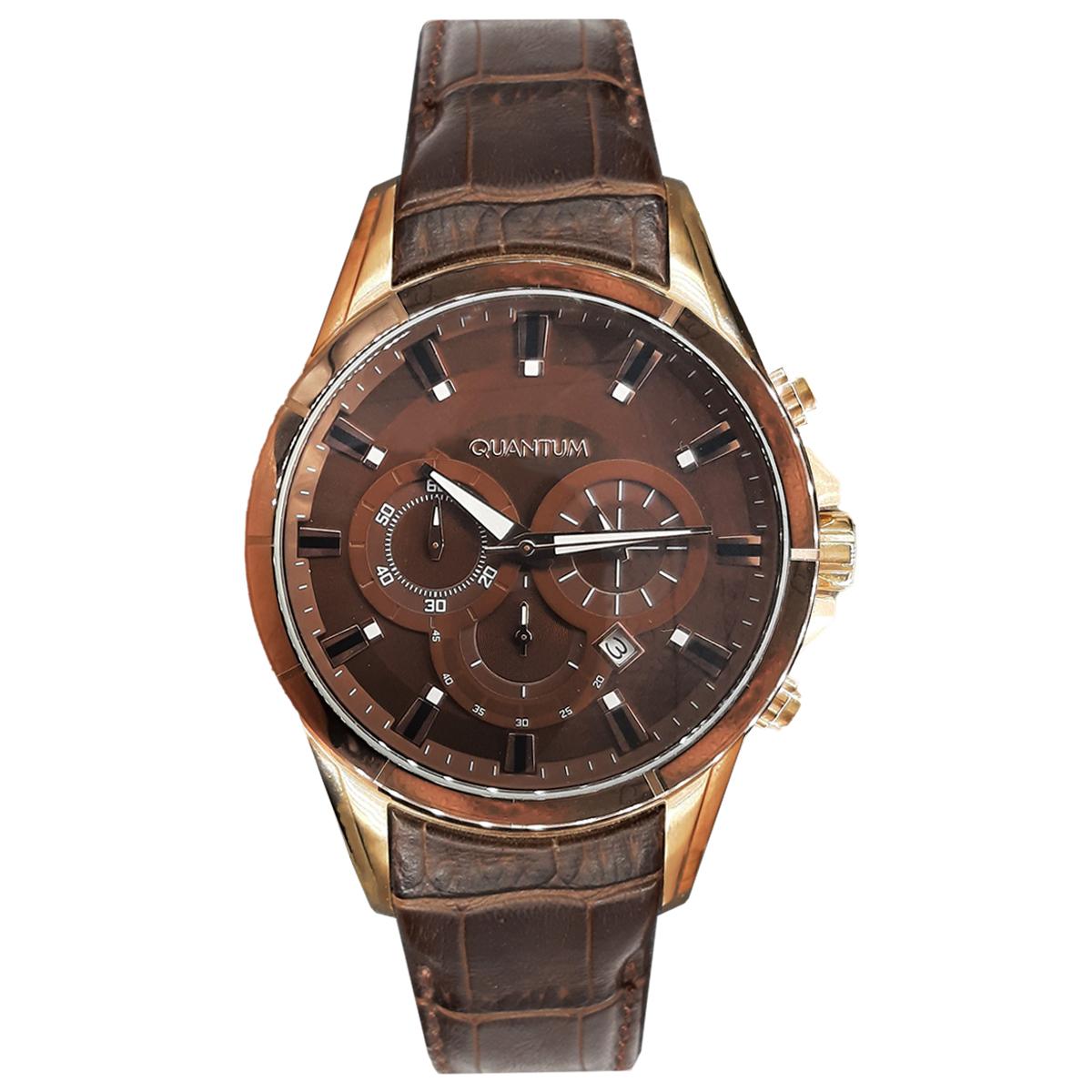 قیمت                      ساعت مچی عقربه ای مردانه کوانتوم کد ADG393.742
