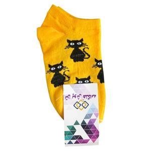 جوراب بچگانه تن پوش هنگامه مدل گربه