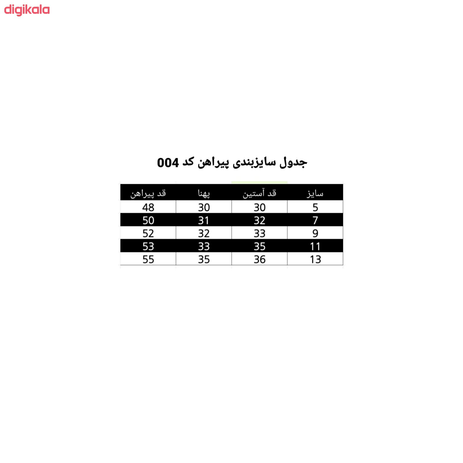 پیراهن دخترانه مدل 004 main 1 2