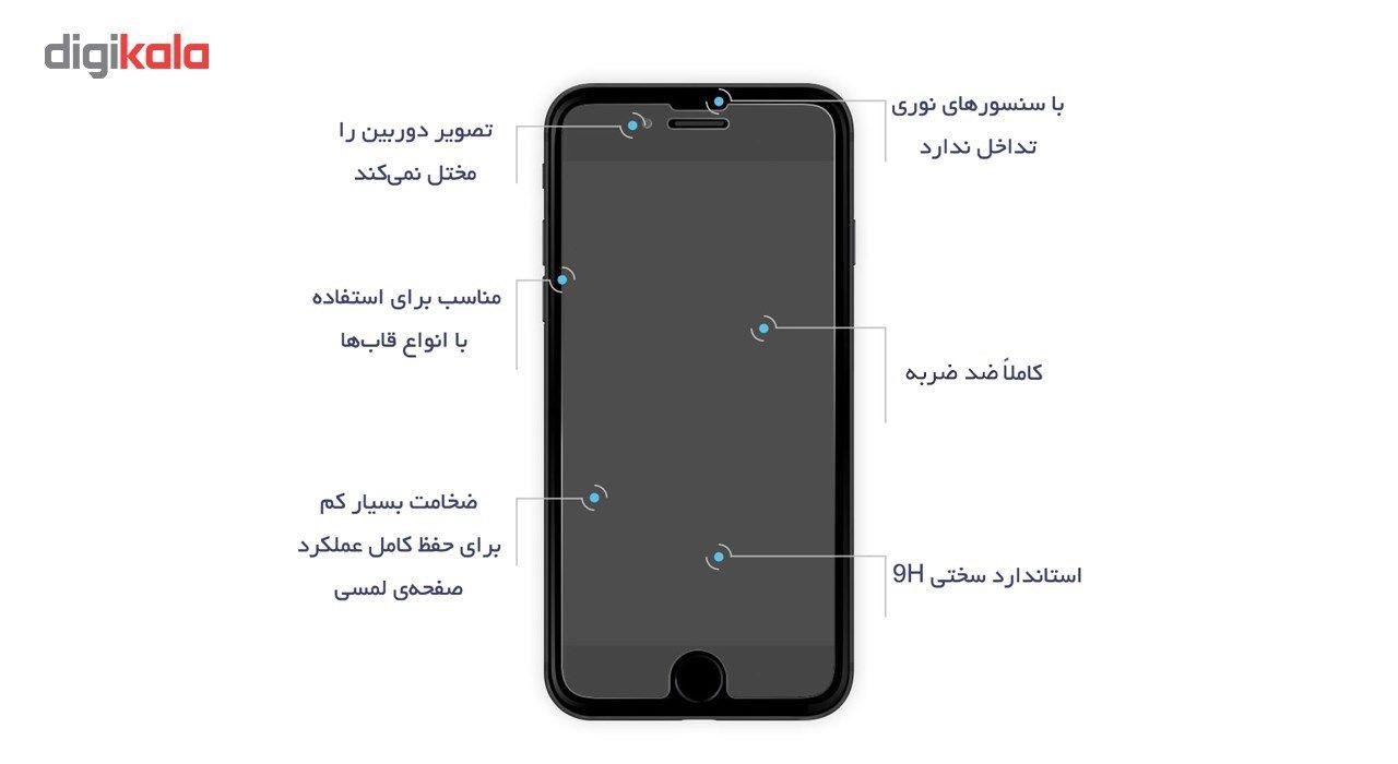 محافظ صفحه نمایش گلس ریمکس  مدل Premium Tempered  مناسب برای گوشی اپل آیفون 7/8 main 1 2