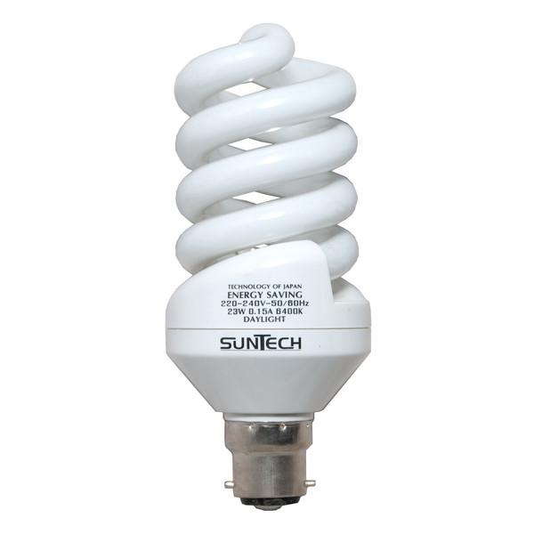 لامپ کم مصرف 23 وات سانتک مدل 013 پایه B22