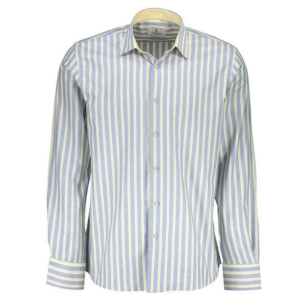 پیراهن آستین بلند مردانه سارتوریا کد 3600