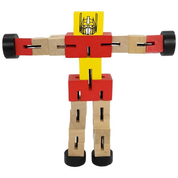 ربات تبدیل شونده چوبی مدل KTF-008