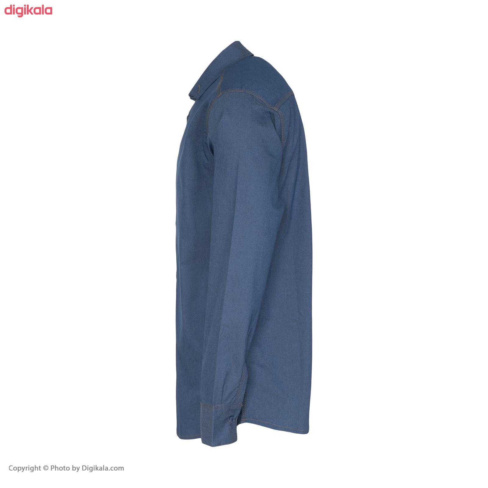 پیراهن آستین بلند مردانه مدل CLF Mir main 1 2