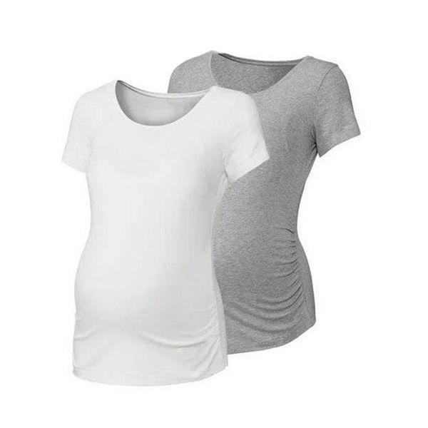 تی شرت بارداری اسمارا مدل fa775مجموعه دو عددی
